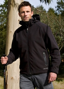 Herenjas Result Zorax Z-Tech Hooded Soft Shell R129X